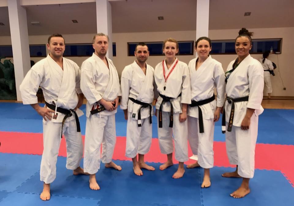 <p>6 karateków Akademii Karate Tradycyjnego Niepołomice-Kraków wzięło udział w wiosennej edycji kursu sędziowskiego. Szkolenie trwało od 17 do 19 marca w Dojo Stara Wieś.</p>