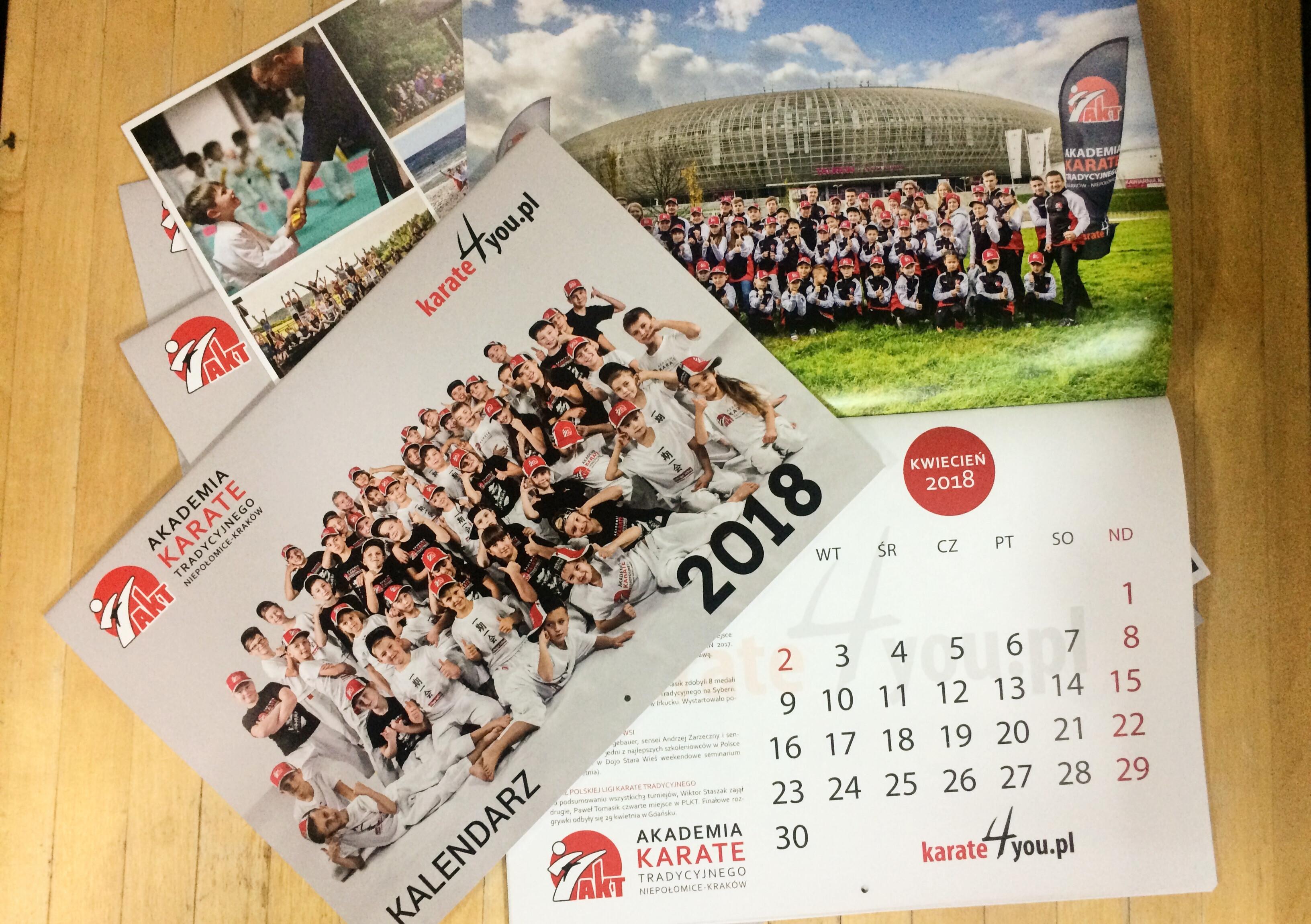 <p>4 grudnia Akademia już po raz szósty wydała klubowy kalendarz na kolejny rok. </p>