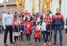 <p>6 stycznia karatecy AKT tradycyjnie już uczestniczyli w Orszaku Trzech Króli. Barwny korowód przeszedł ulicami Niepołomic.</p>