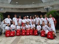 <p>Iga Dumieńska zawodniczka Akademii Karate Tradycyjnego Niepołomice spędziła niemal dwa tygodnie na Okinawie. W wyjeździe zorganizowanym na początku sierpnia przez Polski Związek Karate Tradycyjnego uczestniczyło 20 osób z Polski.</p>