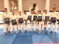 <p>8-osobowa ekipa karateków AKT uczestniczyła w WTKF Master Camp Gasshuku 2018 – międzynarodowym zgrupowaniu karate tradycyjnego.</p>