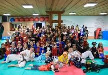<h5>Andrzejkowa Noc Przebierańców </h5><p>30 listopada zorganizowaliśmy w Akademii w Niepołomicach Andrzejkową Noc Przebierańców dla naszych karateków. </p>